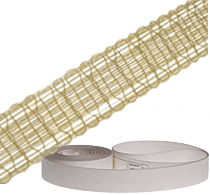 Garniture tapes and suction tapes