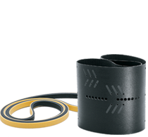 Drive belts and conveyor belts