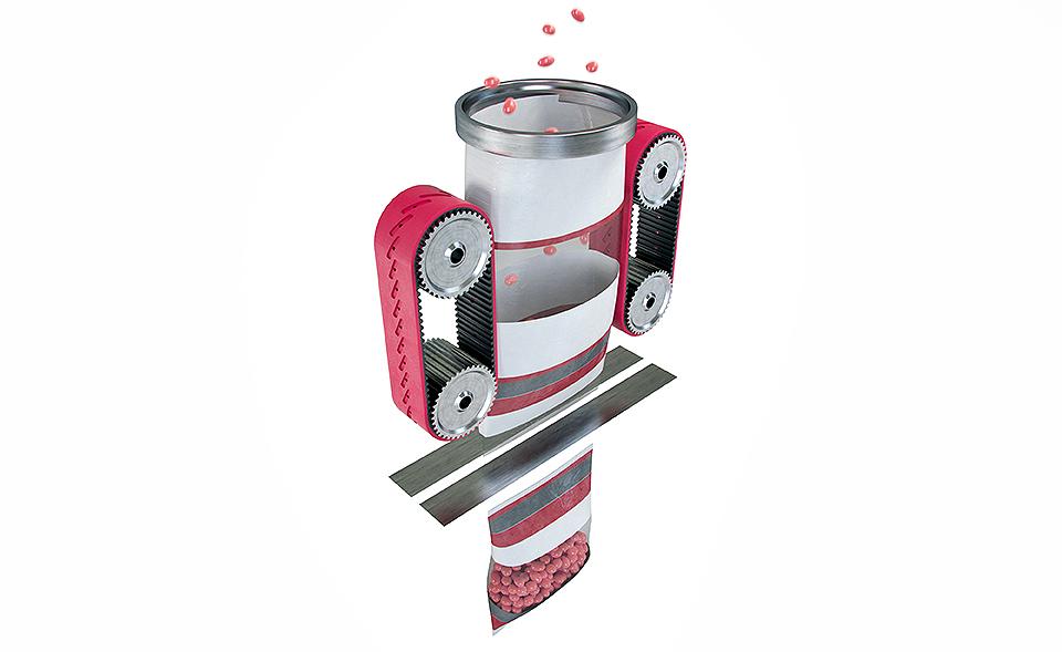 Schlauchbeutel-Maschine