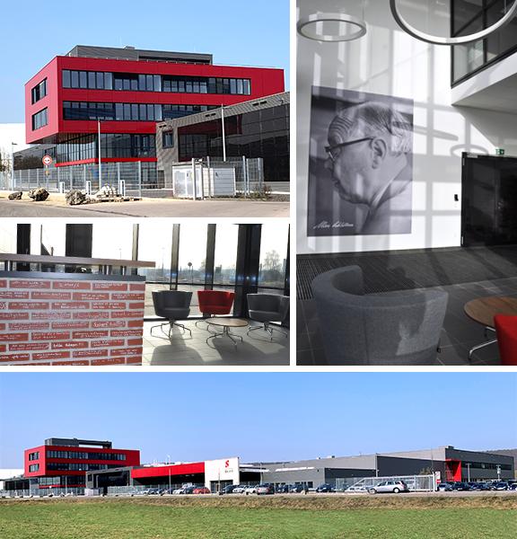 Hauptsitz Industriegebiet Vohenstein